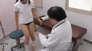 Teen gets her pussy examined by a naughty gynecologist